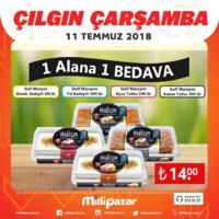 Milli Pazar Market 11 - 15 Temmuz 2018 Kampanya Broşürü! Sayfa 5 Önizlemesi