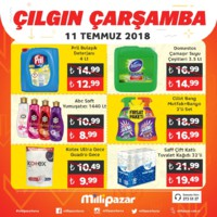 Milli Pazar Market 11 - 15 Temmuz 2018 Kampanya Broşürü! Sayfa 6 Önizlemesi