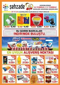Şehzade Market 04 - 17 Temmuz 2018 Kampanya Broşürü! Sayfa 1