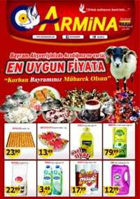 Armina Market 21 Ağustos 2018 Kampanya Broşürü! Sayfa 1