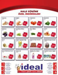 İdeal Market Ordu 08 Ağustos 2018 Kampanya Broşürü! Sayfa 1