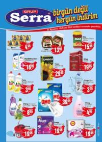 Serra Market 31 Ağustos - 05 Eylül 2018 Kampanya Broşürü! Sayfa 1