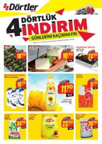 Dörtler Market 01 - 12 Ağustos 2018 Kampanya Broşürü! Sayfa 1