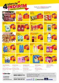 Dörtler Market 01 - 12 Ağustos 2018 Kampanya Broşürü! Sayfa 2