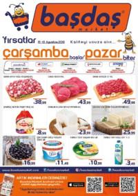 Başdaş Market 15 - 19 Ağustos 2018 Kampanya Broşürü! Sayfa 1