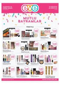 Eve Kozmetik 10 - 20 Ağustos 2018 Kampanya Broşürü! Sayfa 1