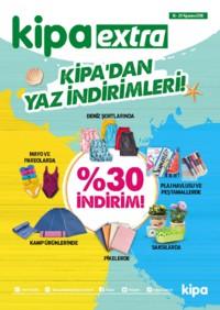 Kipa Extra 16 - 29 Ağustos 2018 Kampanya Broşürü: Kipa' dan Yaz İndirimleri! Sayfa 1