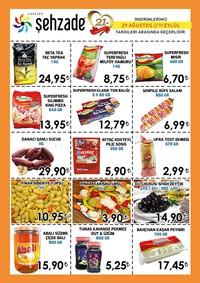 Şehzade Market 29 Ağustos - 11 Eylül 2018 Kampanya Broşürü! Sayfa 2