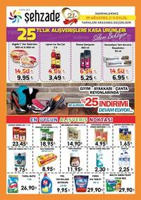 Şehzade Market 29 Ağustos - 11 Eylül 2018 Kampanya Broşürü! Sayfa 1