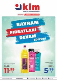 Kim Market Marmara Bölgesi 29 Ağustos - 05 Eylül 2018 Kampanya Broşürü! Sayfa 1