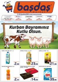 Başdaş Market 17 - 20 Ağustos 2018 Kampanya Broşürü! Sayfa 1