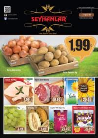 Seyhanlar Market Zinciri 08 - 13 Ağustos 2018 Kampanya Broşürü! Sayfa 1
