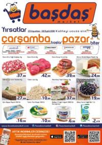 Başdaş Market 29 Ağustos - 02 Eylül 2018 Kampanya Broşürü! Sayfa 1