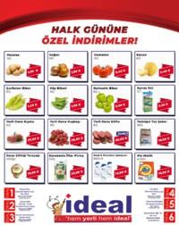 İdeal Market Ordu 15 Ağustos 2018 Halk Günü Kampanya Broşürü! Sayfa 1