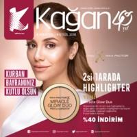 Kağan Parfümeri 06 Ağustos - 06 Eylül 2018 Kampanya Broşürü! Sayfa 1 Önizlemesi