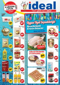 İdeal Market Ordu 31 Ağustos - 04 Eylül 2018 Kampanya Broşürü! Sayfa 1