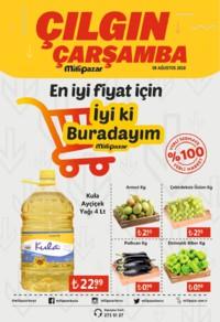 Milli Pazar Market 08 Ağustos 2018 Kampanya Broşürü! Sayfa 1