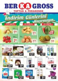 Grup Ber-ka Market 03 - 12 Ağustos 2018 Kampanya Broşürü! Sayfa 1
