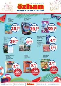 Özhan Marketler Zinciri 03 - 09 Ağustos 2018 Kampanya Broşürü! Sayfa 1