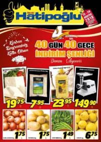 Hatipoğlu 15 - 20 Ağustos 2018 Kampanya Broşürü! Sayfa 1