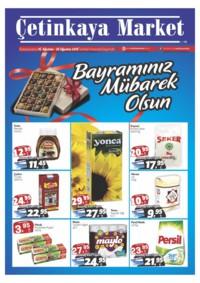 Çetinkaya Market 16 - 26 Ağustos 2018 Kampanya Broşürü! Sayfa 1