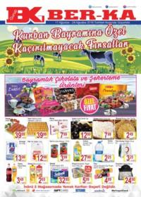 Grup Ber-ka Market 17 - 24 Ağustos 2018 Kampanya Broşürü! Sayfa 1