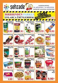 Şehzade Market 01 - 14 Ağustos 2018 Kampanya Broşürü! Sayfa 2