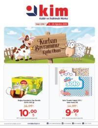 Kim Market Marmara Bölgesi Özel 15 - 28 Ağustos 2018 Kampanya Broşürü! Sayfa 1