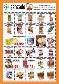 Şehzade Market 15 - 28 Ağustos 2018 Kampanya Broşürü! Sayfa 2