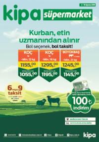 Kipa Süpermarket 02 - 15 Ağustos 2018 Kampanya Broşürü: Kurban Etin Uzmanından Alınır! Sayfa 1