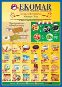 Ege Ekomar Market 15 - 26 Ağustos 2018 Kampanya Broşürü! Sayfa 1