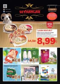 Seyhanlar Market Zinciri 15 - 28 Ağustos 2018 Kampanya Broşürü! Sayfa 1