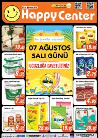 Happy Center 07 - 14 Ağustos 2018 Kampanya Broşürü! Sayfa 1