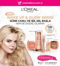 Cosmetica 01 - 31 Ağustos 2018 Kampanya Broşürü! Sayfa 1