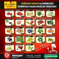 Emirgan Market 18 - 19 Ağustos 2018 Kampanya Broşürü! Sayfa 1