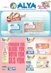 Alya Market 07 - 24 Ağustos 2018 Kampanya Broşürü! Sayfa 1