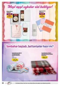 Kipa Süpermarket 13 - 26 Eylül 2018 Kampanya Broşürü: Çocuklar Okula Anne Babalar Kipa' ya! Sayfa 28 Önizlemesi