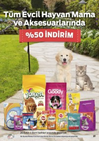 Kipa Süpermarket 13 - 26 Eylül 2018 Kampanya Broşürü: Çocuklar Okula Anne Babalar Kipa' ya! Sayfa 27 Önizlemesi