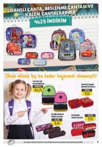 Kipa Süpermarket 13 - 26 Eylül 2018 Kampanya Broşürü: Çocuklar Okula Anne Babalar Kipa' ya! Sayfa 7 Önizlemesi