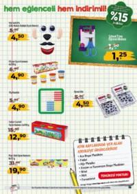 Kipa Süpermarket 13 - 26 Eylül 2018 Kampanya Broşürü: Çocuklar Okula Anne Babalar Kipa' ya! Sayfa 15 Önizlemesi
