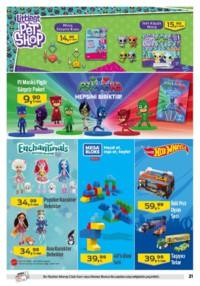Kipa Süpermarket 13 - 26 Eylül 2018 Kampanya Broşürü: Çocuklar Okula Anne Babalar Kipa' ya! Sayfa 21 Önizlemesi