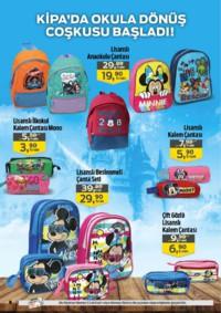 Kipa Süpermarket 13 - 26 Eylül 2018 Kampanya Broşürü: Çocuklar Okula Anne Babalar Kipa' ya! Sayfa 6 Önizlemesi