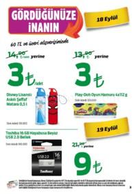 Kipa Süpermarket 13 - 26 Eylül 2018 Kampanya Broşürü: Çocuklar Okula Anne Babalar Kipa' ya! Sayfa 3 Önizlemesi
