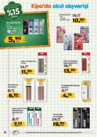 Kipa Süpermarket 13 - 26 Eylül 2018 Kampanya Broşürü: Çocuklar Okula Anne Babalar Kipa' ya! Sayfa 10 Önizlemesi