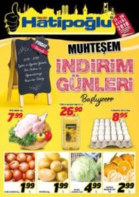 Hatipoğlu 11 - 20 Eylül 2018 Kampanya Broşürü! Sayfa 1
