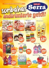Serra Market 22 - 24 Eylül 2018 Kampanya Broşürü! Sayfa 1