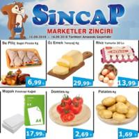 Sincap Marketler Zinciri 15 - 16 Eylül 2018 Fırsat Ürünleri Sayfa 1