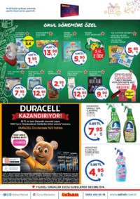 Özhan Marketler Zinciri 14 - 23 Eylül 2018 Kampanya Broşürü! Sayfa 8 Önizlemesi