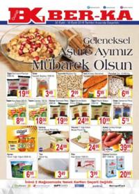 Grup Ber-ka Market 20 - 30 Eylül 2018 Kampanya Broşürü! Sayfa 1