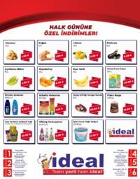 İdeal Market Ordu 19 Eylül 2018 Kampanya Broşürü! Sayfa 1